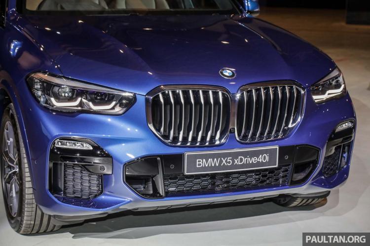 Xem trước BMW X5 thế hệ mới sắp bán ra tại Malaysia với giá từ 3,5 tỷ đồng