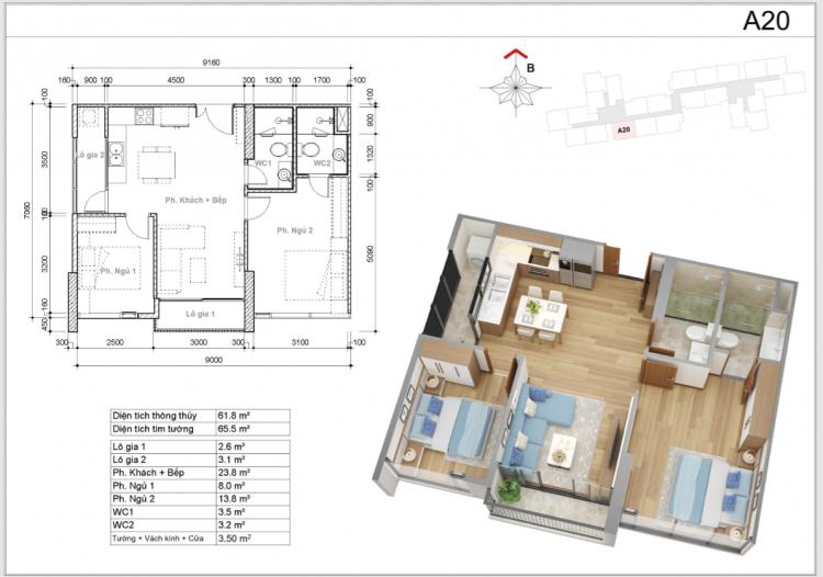Eco Green Saigon Quận 7 - Phần 2: Thiết kế căn hộ & Nhà mẫu - Trải nghiệm căn hộ bàn giao đầu tiên