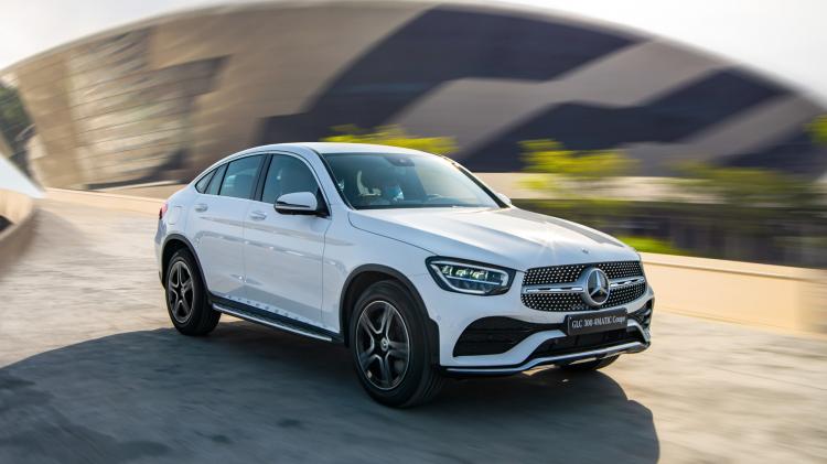 Khách mua Mercedes-Benz GLC 300 Coupé 2020 có thể đặt thêm option