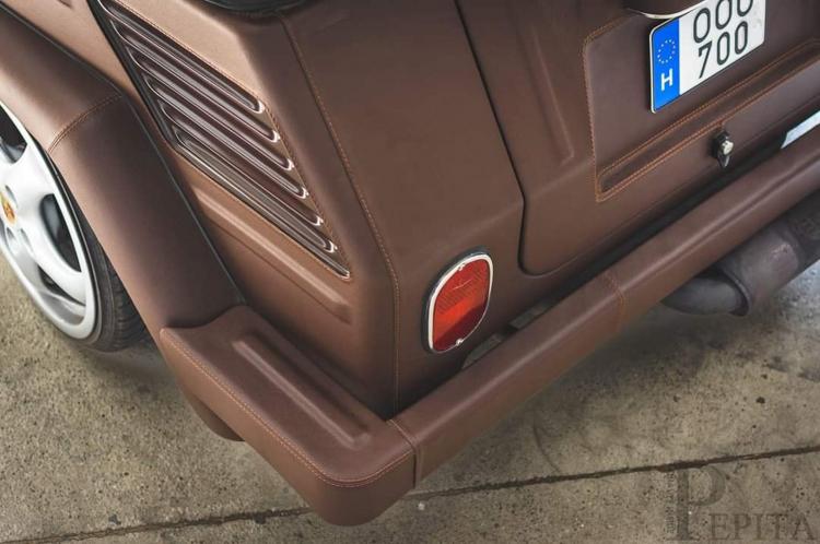 VW Thing bọc da ngoại thất lập dị nhất thế giới