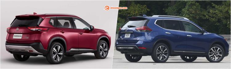 So sánh Nissan X-Trail thế hệ mới và cũ: Thay đổi toàn diện, thiết kế đầu xe theo xu hướng mới
