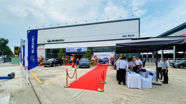 Motor Image Vietnam mở rộng hệ thống phân phối tại thành phố Hồ Chí Minh,  Khai trương đại lý ủy quyền Subaru Gia Định