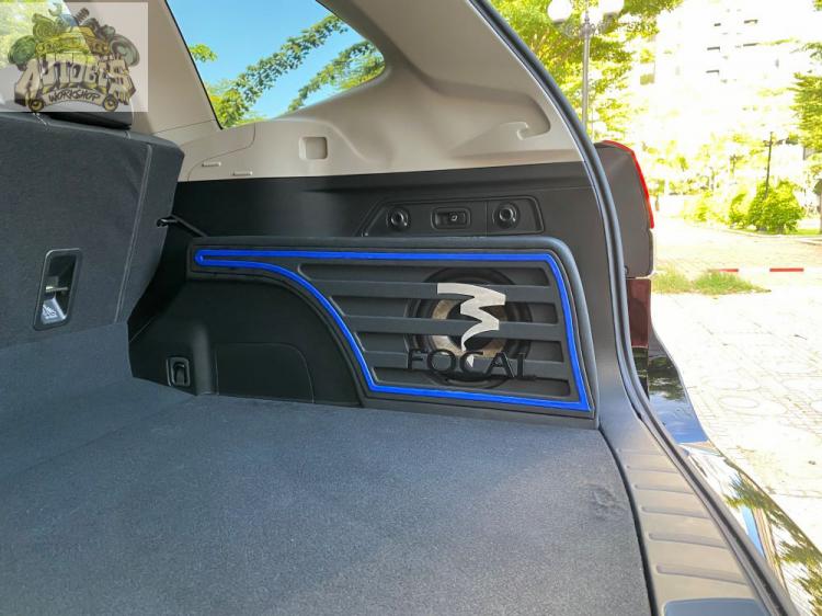 Độ âm thanh cho Subaru Forester GT với thương hiệu loa Focal