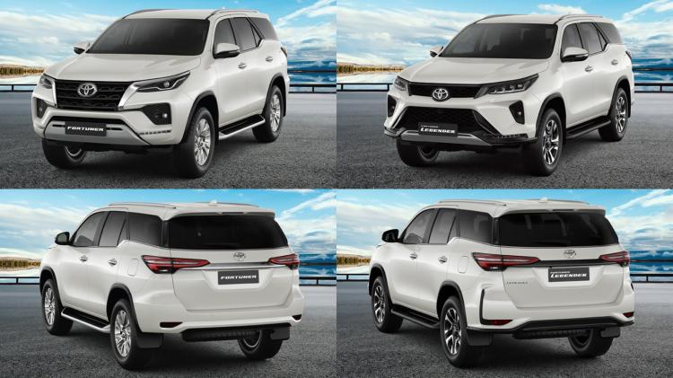 Chi tiết trang bị trên các phiên bản Toyota Fortuner 2021: có còn bị chê nghèo nàn?