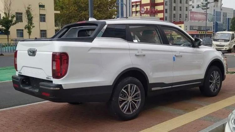 Chiêm ngưỡng Farizon FX - Bán tải lai SUV kỳ dị tại Trung Quốc