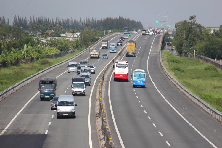 Cao tốc TP HCM - Trung Lương được sửa xong