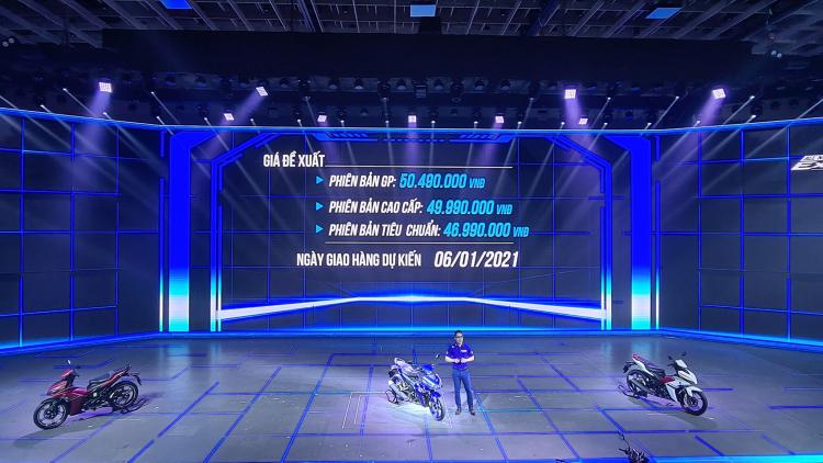 Yamaha Exciter 2021 ra mắt: Động cơ VVA 155cc, không có ABS, giá từ 46,9 triệu đồng