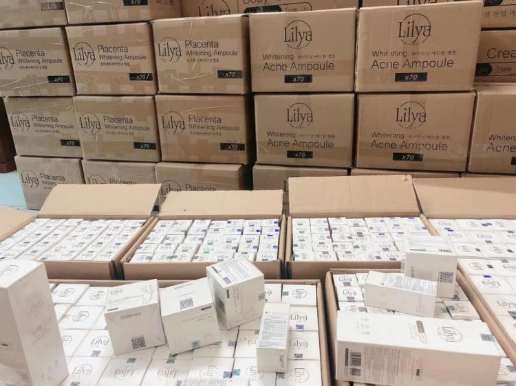 Mỹ phẩm Lilya hàng chính hãng Hàn Quốc.Tuyển đại lý trên toàn quốc